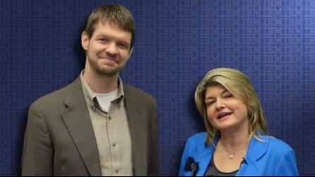 Jeff with Sandy Carter from IBM